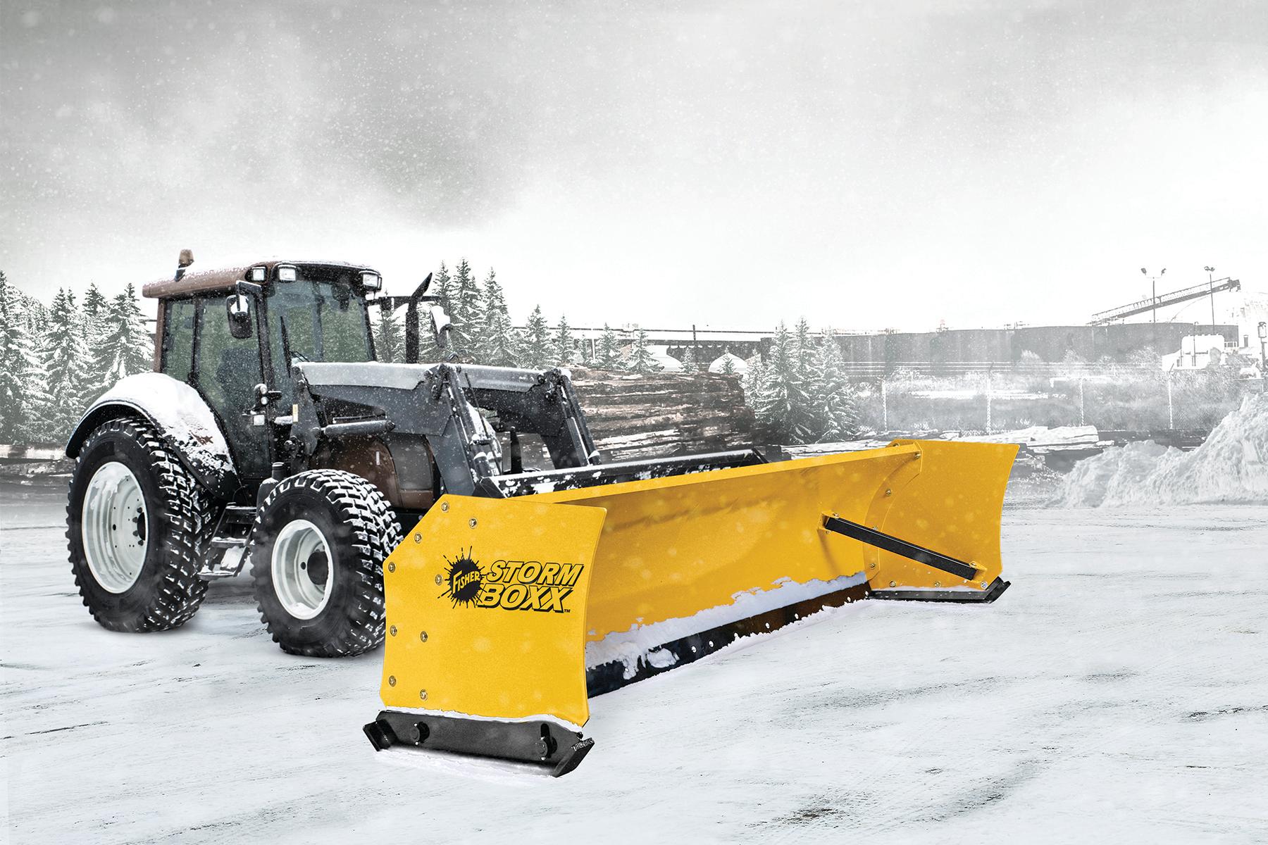 Fisher Storm Boxx snow plow